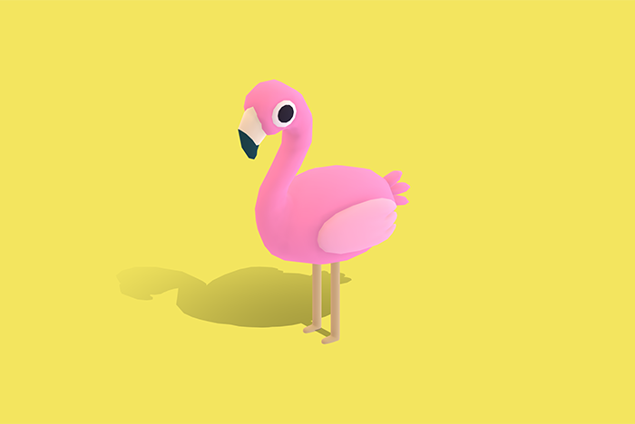 Floyd the Flamingo – Quirky Series