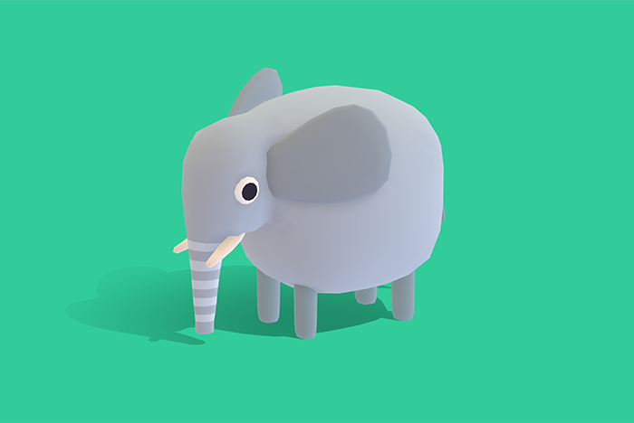 Edgar the Elephant – Quirky Series