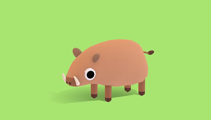 Grump the Hog – Quirky Series