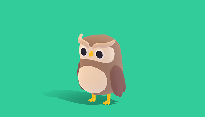 Olaf the Owl – Quirky Series