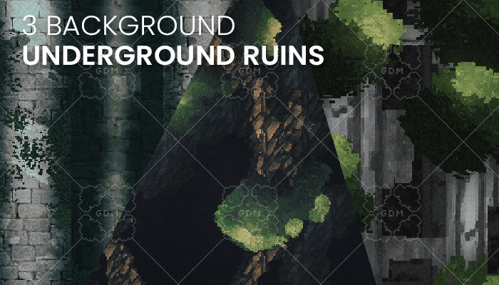 3 Underground Ruins Background