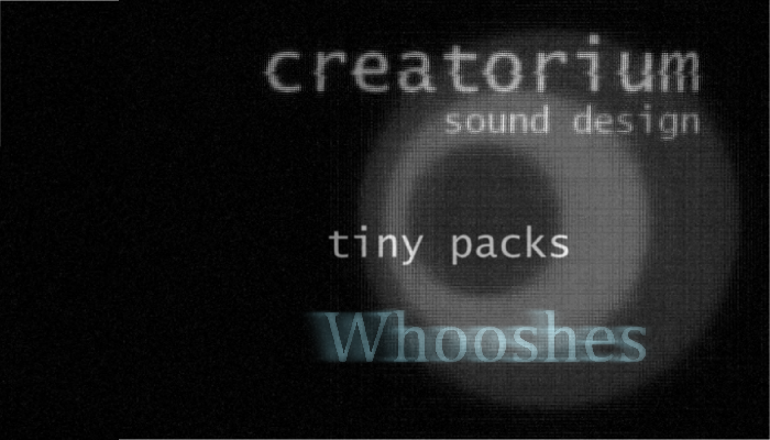 Creatorium tiny packs – Whooshes
