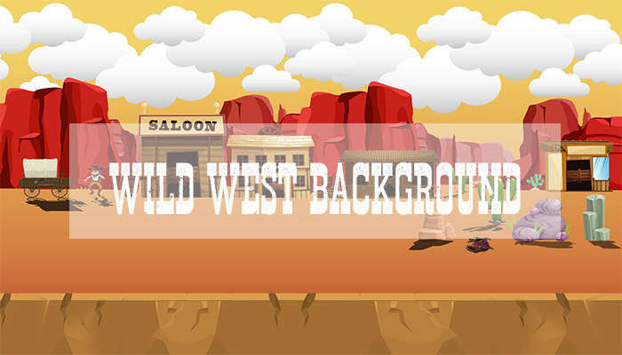 Wild West Mobile Game Background
