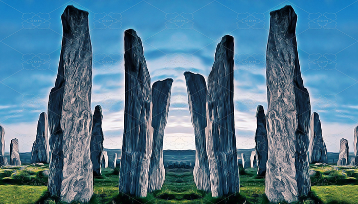 REPEATABLE BACKGROUND FOR SCROLLING – STONEHENGE