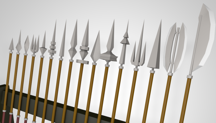 Low Poly Pikes