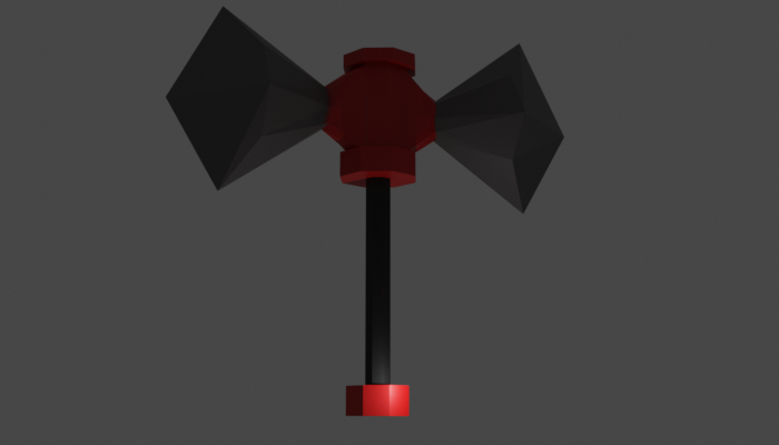 Dual Face Axe prototype: Recreated
