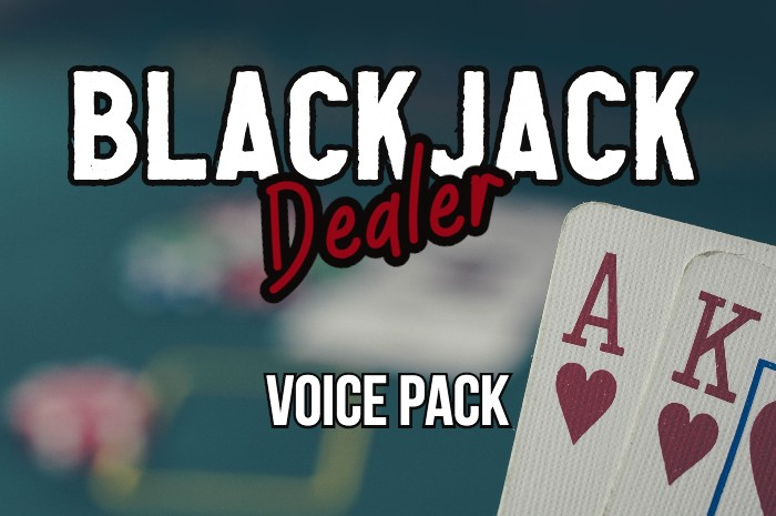 BLACKJACK DEALER voice pack