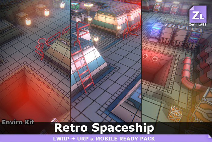 EnviroKit : Retro-Spaceship