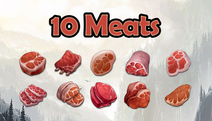 10 Meats/Beef/Pork EXCLUSIVE