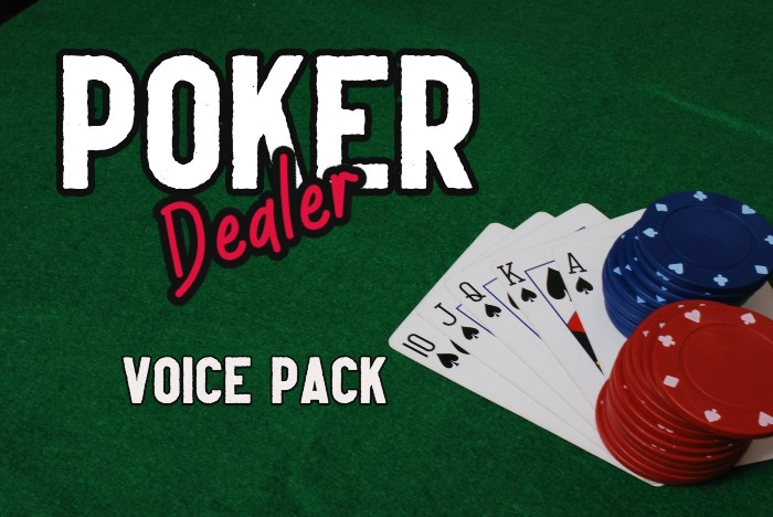 POKER DEALER voice pack