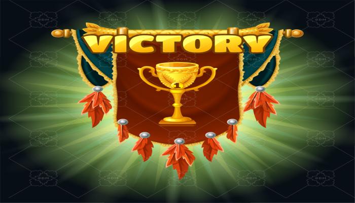 medieval victory slogan