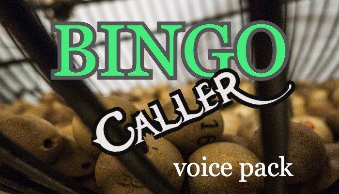 BINGO CALLER voice pack