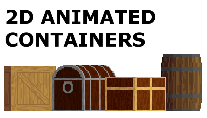 2D Animated Containers
