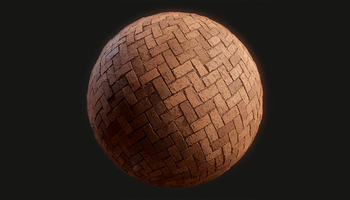 Brick Wall Herringbone Substance
