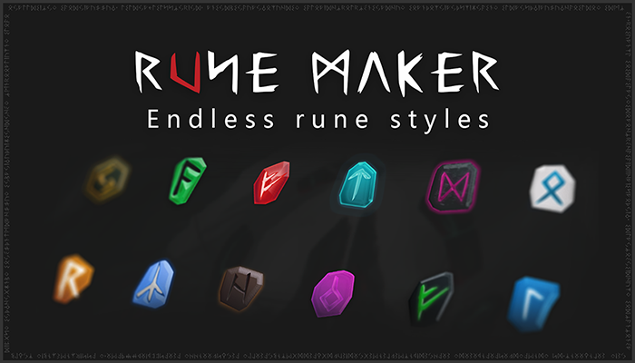 Rune Maker – Build Vector Runes