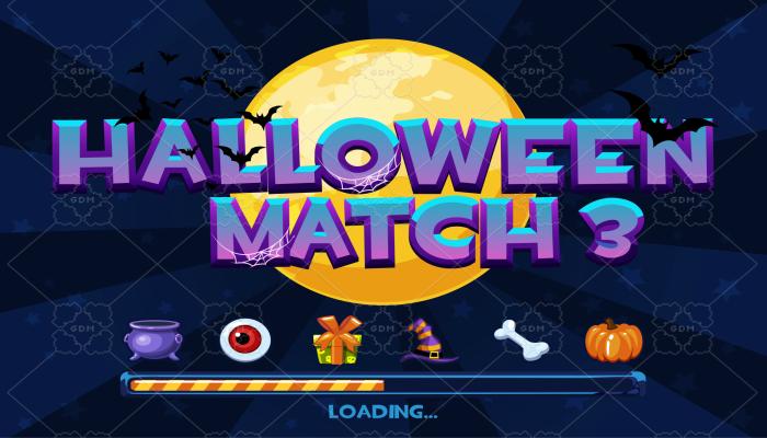 hallowen wallpaper loading ui interface game