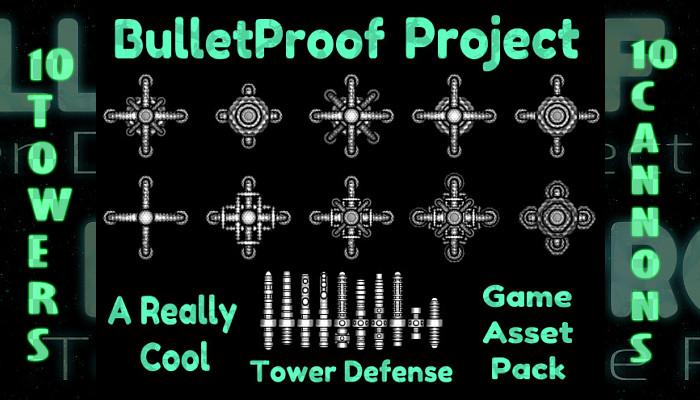 BulletProof Project – Modular Tower Defense Game