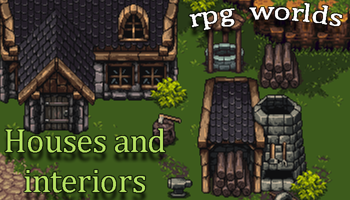 RPG Worlds Houses and Interiors