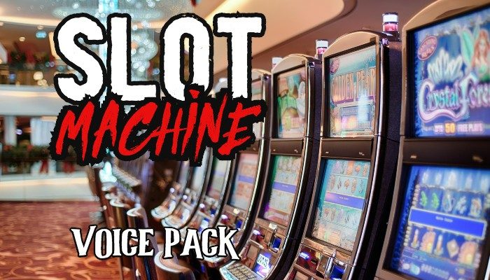 SLOT MACHINE voice pack