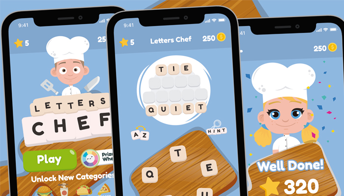 Words Letters Chef Game Gui Assets
