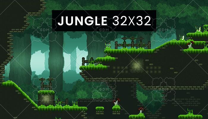 Jungle 32×32