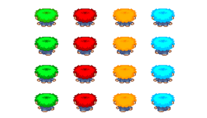 Top-Down Character
