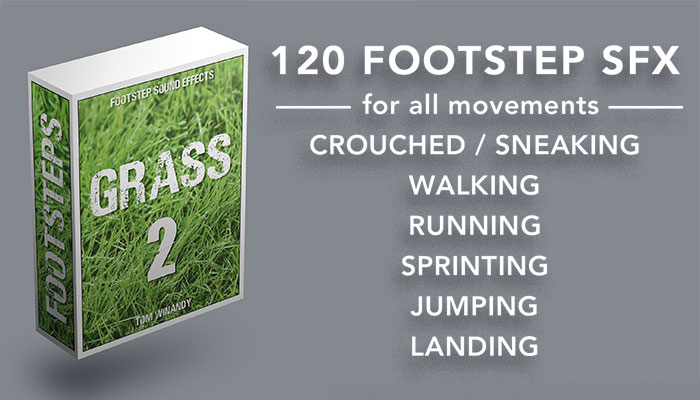 Footsteps Sound FX – Grass 2