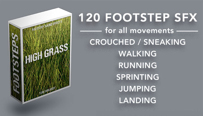 Footsteps Sound FX – High Grass