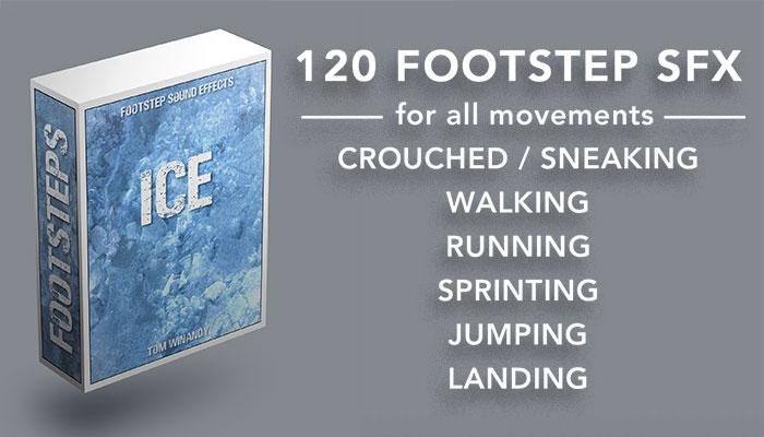 Footsteps Sound FX – Ice