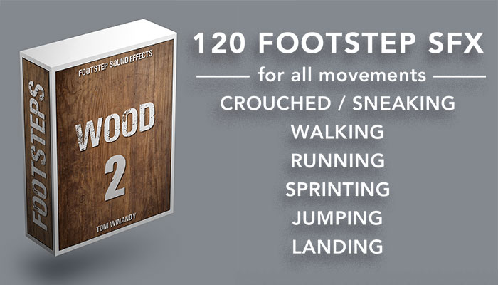 Footsteps Sound FX – Wood 2