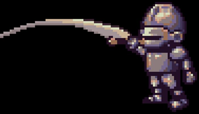 Knight Pixel Art