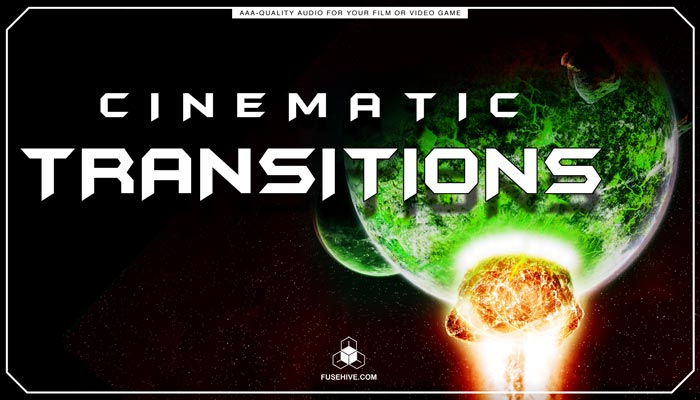 Cinematic Transitions Sound Effects Library – Trailers Promotional Teaser Videos Sounds MINI PACK