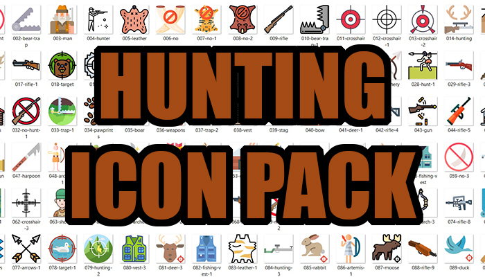 Hunting Icon Pack