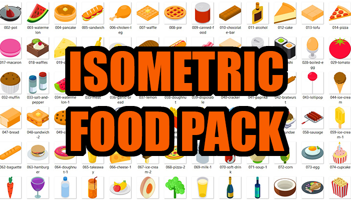 Isometric Food Pack
