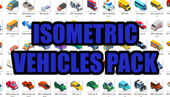 Isometric Vehicles Pack