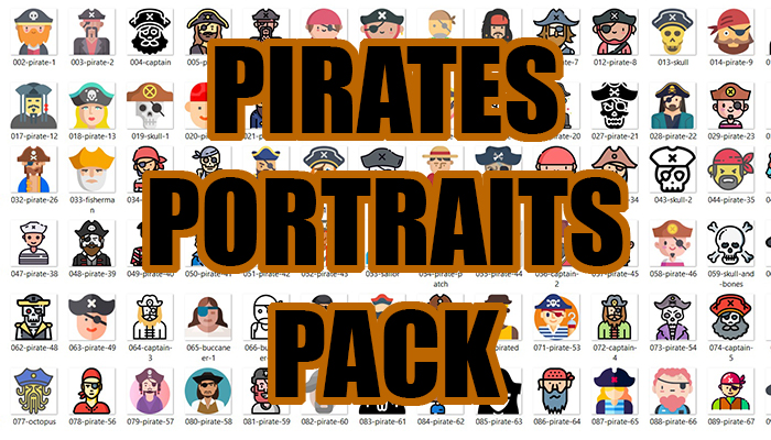 Pirates Portraits Pack