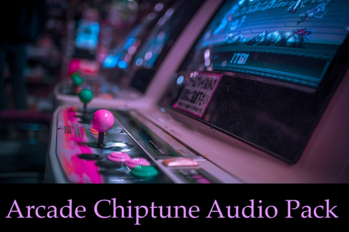 Arcade Chiptune Audio Pack