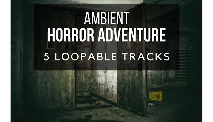 Scary Ambient Horror – 5 PACK