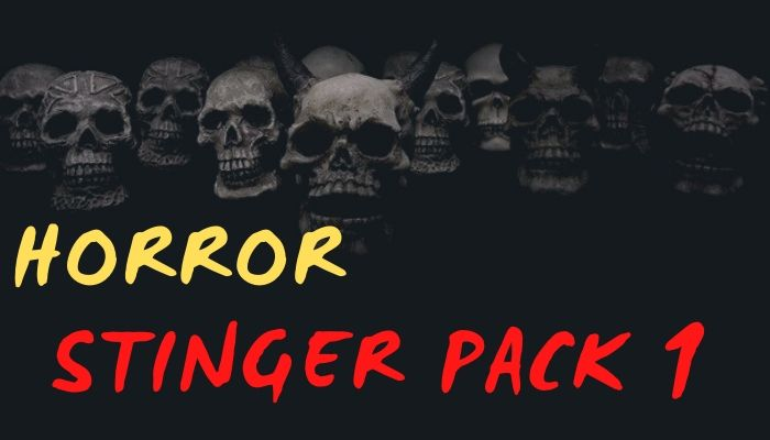 Horror Stinger Pack 1