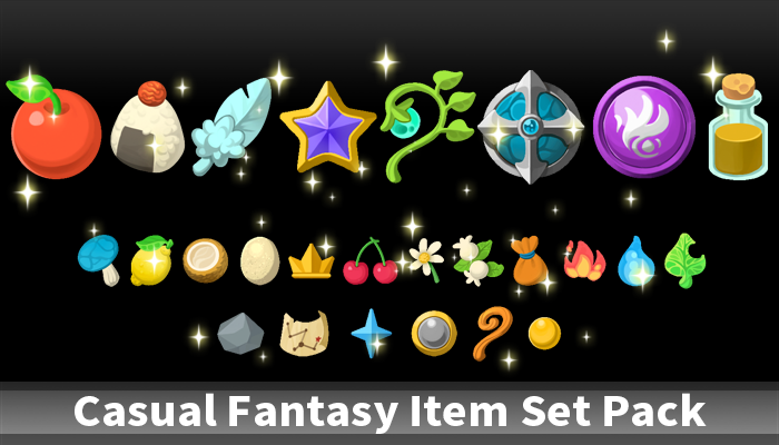 Casual Fantasy Item Set Pack