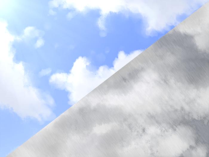 Sunny and rainy skies 2 Backgrounds