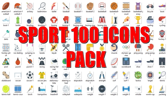 100 Icons Sport Pack