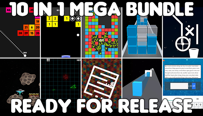 10 in 1 mega bundle – pack of hyper casual games