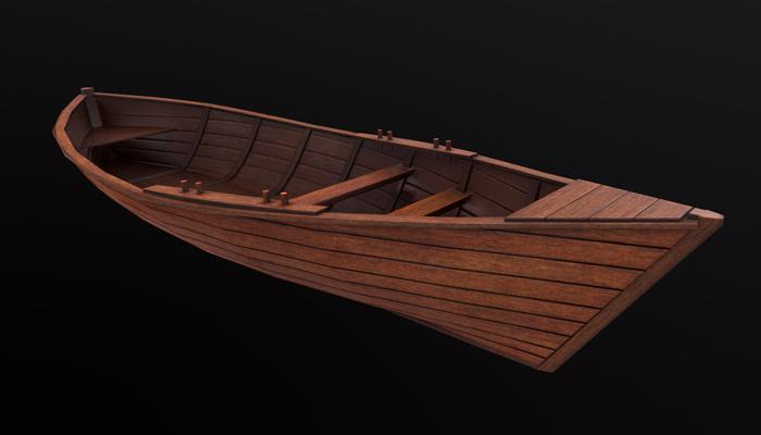 Gdovka boat