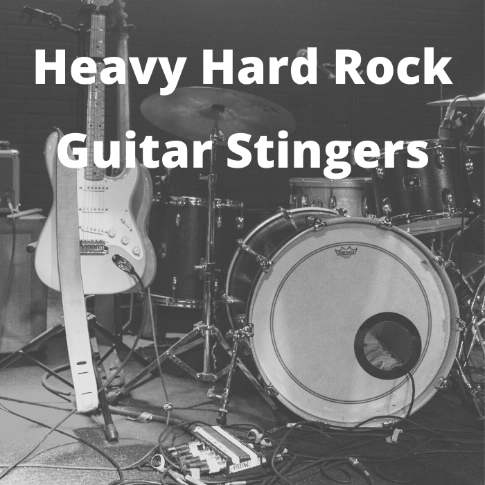 Guitar Hard Rock Metal Stinger Transition Pack