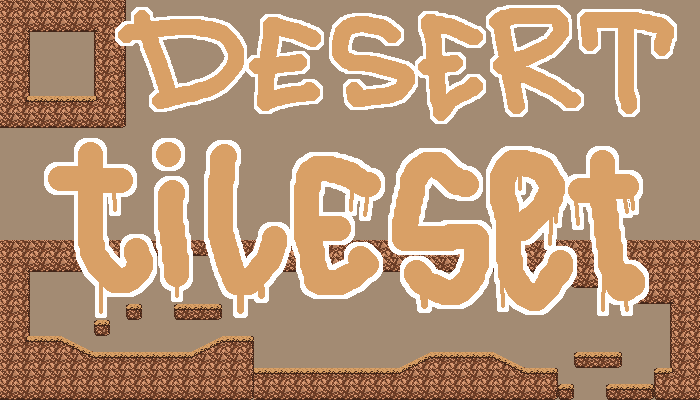 Desert tileset 16×16