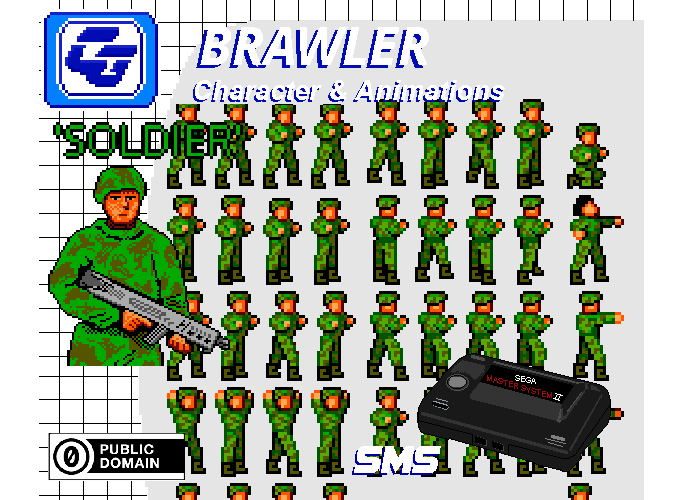 Brawler Asset Character 'Soldier' SMS