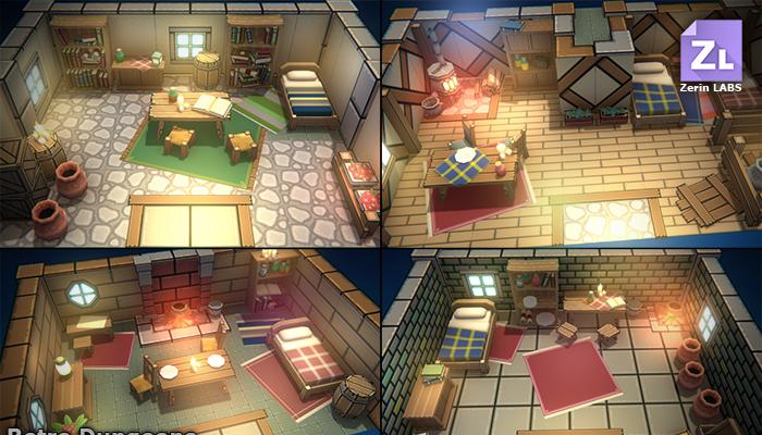 EnviroKit : Retro-Interiors