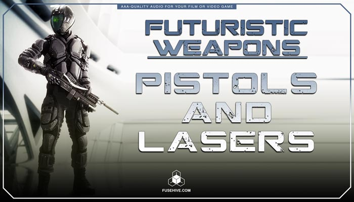 Futuristic Sci-Fi Lasers & Blasters Weapons Sound Effects Library – Science Fiction War MINI PACK