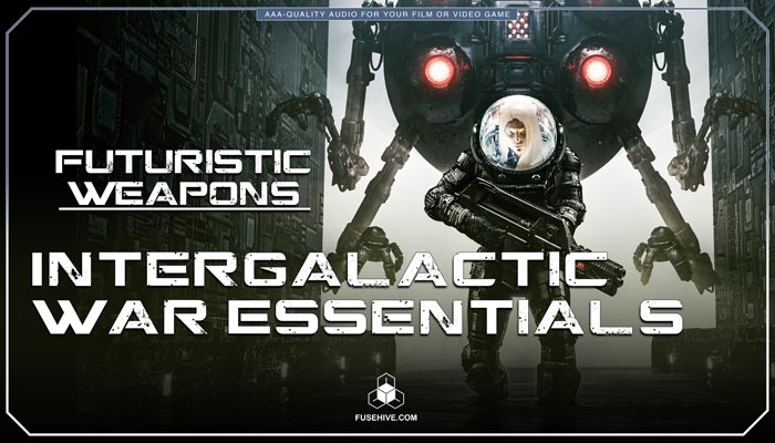 Futuristic Sci-Fi Energy Shields, Weapons Computer Interfaces & Advanced War Technology Sound Effects Library – Science Fiction Warfare MINI PACK